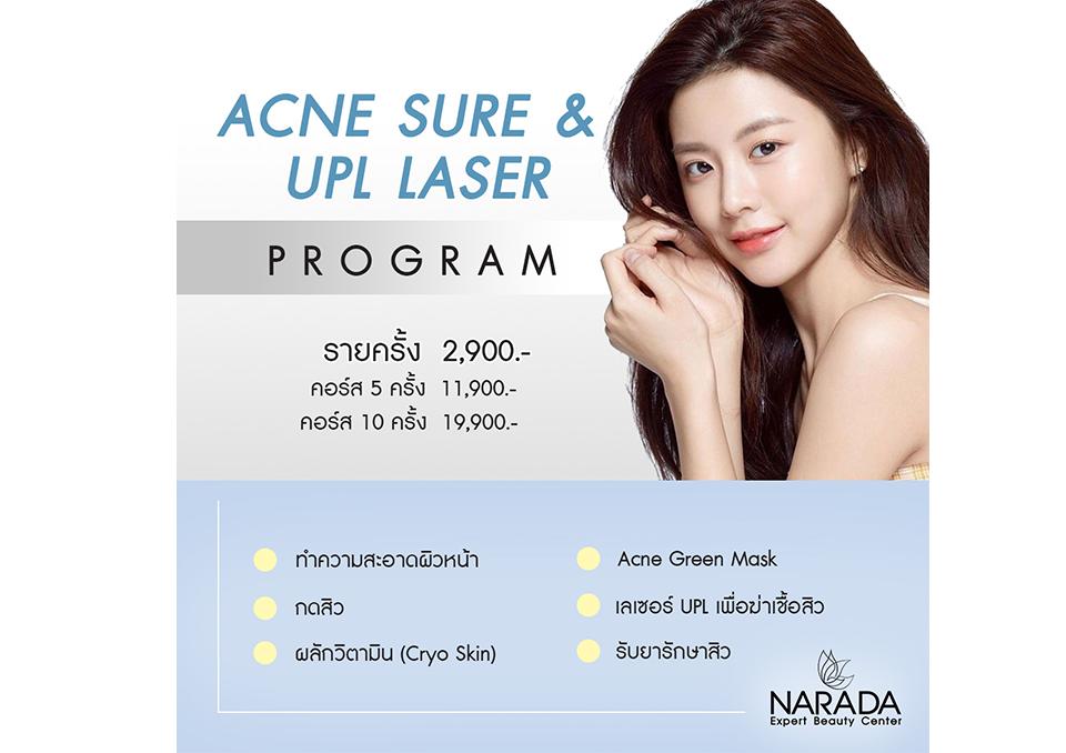 Acne Sure & UPL Laser