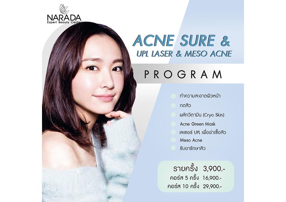Acne Sure&UPL & Meso acne